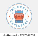 the north explorers is a vector ... | Shutterstock .eps vector #1222644250