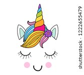 lovely vector drawing of the... | Shutterstock .eps vector #1222655479
