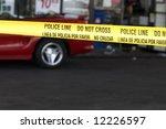 Yellow Crime Scene Tape...