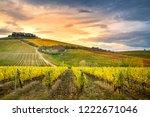 chianti region  tuscany  italy. ... | Shutterstock . vector #1222671046