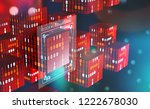 blockchain technology.... | Shutterstock . vector #1222678030