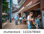 stanley  hong kong   nov 04... | Shutterstock . vector #1222678060