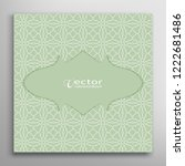 lace card or invitation... | Shutterstock .eps vector #1222681486