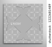 lace card or invitation... | Shutterstock .eps vector #1222681489