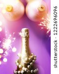 2019 sexy new year  champagne... | Shutterstock . vector #1222696096