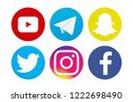 valencia  spain   november 06 ... | Shutterstock . vector #1222698490