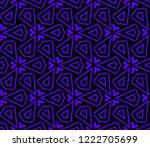 modern geometric ornament.... | Shutterstock .eps vector #1222705699