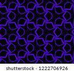 modern geometric ornament.... | Shutterstock .eps vector #1222706926