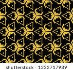 modern geometric ornament.... | Shutterstock .eps vector #1222717939