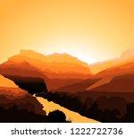 Western Desert Background....