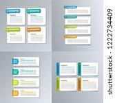 infographic design template. | Shutterstock .eps vector #1222734409