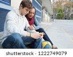 beautiful ethnic diverse... | Shutterstock . vector #1222749079