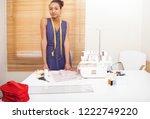 portrait of african american... | Shutterstock . vector #1222749220