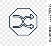 shuffle concept vector linear...
