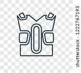 padded shirt concept vector... | Shutterstock .eps vector #1222767193