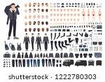 thief  burglar or criminal...   Shutterstock .eps vector #1222780303