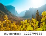 panoramic view of famous... | Shutterstock . vector #1222799893