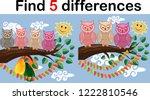 children games  find...   Shutterstock .eps vector #1222810546