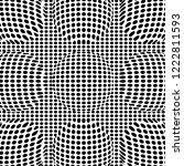 optical illusion lines... | Shutterstock .eps vector #1222811593