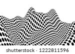 optical illusion lines... | Shutterstock .eps vector #1222811596