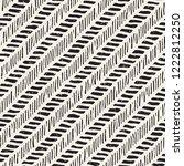 simple ink geometric pattern.... | Shutterstock .eps vector #1222812250