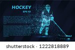 a hockey game consists of...   Shutterstock .eps vector #1222818889