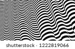 optical illusion lines... | Shutterstock .eps vector #1222819066