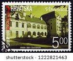 zagreb  croatia   november 1 ... | Shutterstock . vector #1222821463