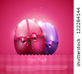 Modern Pink Easter Background