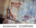 Rock Art Painting In Tsodilo...