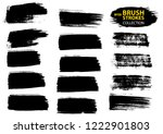 large set different grunge... | Shutterstock .eps vector #1222901803
