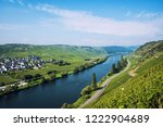 panoramic view of moselle... | Shutterstock . vector #1222904689