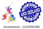 social network map of great...   Shutterstock .eps vector #1222906780