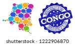 social network map of... | Shutterstock .eps vector #1222906870