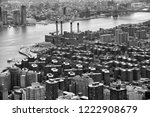 view on stuyvesant town in... | Shutterstock . vector #1222908679