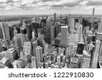 new york cityscape. new york... | Shutterstock . vector #1222910830