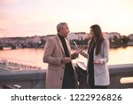 man and woman business partners ... | Shutterstock . vector #1222926826