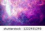 morphing neon blue  purple... | Shutterstock . vector #1222931293