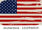 usa flag background.grunge... | Shutterstock .eps vector #1222940419