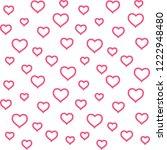valentines day  background... | Shutterstock .eps vector #1222948480