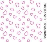 valentines day  background... | Shutterstock .eps vector #1222948483