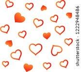 valentines day  background... | Shutterstock .eps vector #1222948486