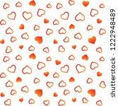 valentines day  background... | Shutterstock .eps vector #1222948489