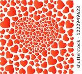 valentines day  background... | Shutterstock .eps vector #1222949623