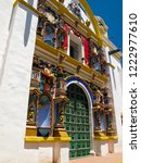 the incredible entrance parish... | Shutterstock . vector #1222977610