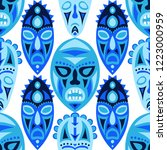 vector illustration. ethnic... | Shutterstock .eps vector #1223000959