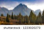 september 19  2018   colorado ... | Shutterstock . vector #1223020273