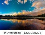 september 18  2018   colorado ... | Shutterstock . vector #1223020276