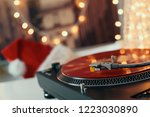 image of christmas. turntable... | Shutterstock . vector #1223030890