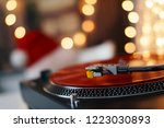 image of christmas. turntable... | Shutterstock . vector #1223030893